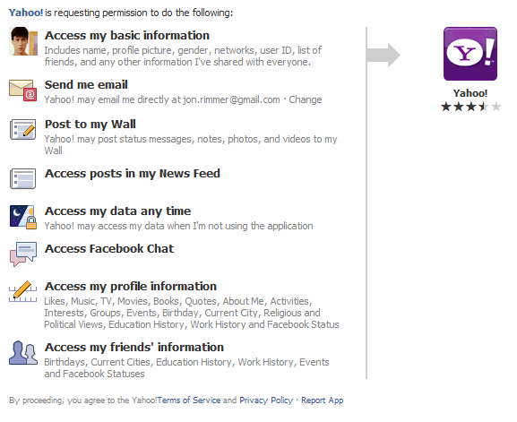 Flickr's insane requirements to connect a Facebook account